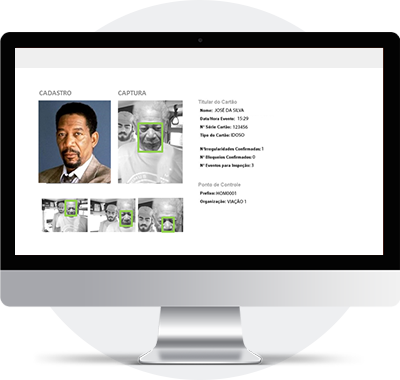 Software de <strong>Biometria Facial</strong> Inteligente