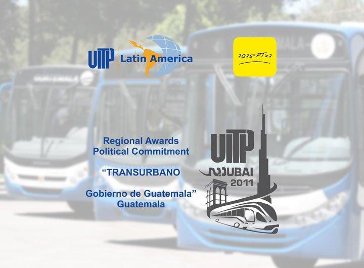 Premiado na Guatemala <b>Comprometimento Político</b>